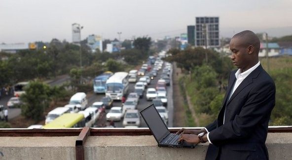 IBM researcher in Kenya